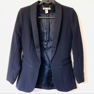 H&M Navy Blue Tuxedo Jacket